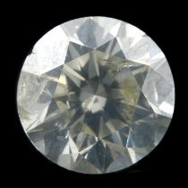 A brilliant cut diamond, weighing 1.56ct
