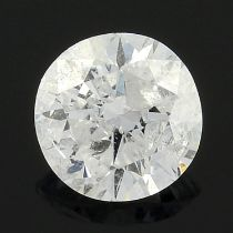 A brilliant cut diamond weighing 0.25ct with AnchorCert report.