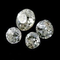 Ten vari-shape diamonds, weighing 1.43ct