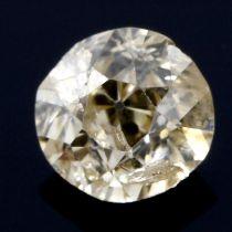 An old cut diamond, weighing 0.47ct