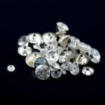 Selection of vari-shape diamonds, weighing 10.72ct