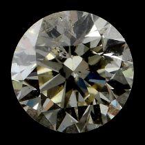 A brilliant cut diamond, weighing 0.50ct