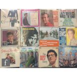 A collection of 1960s Rock and Roll LPs to include Buddy Holly, Buddy Holly Story, and Vol. II,