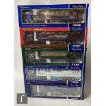 Five Corgi 1:50 scale diecast models, comprising CC12905 Yuill & Dodds Scania Topline Sheeted