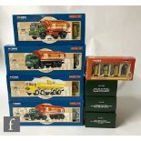 A collection of Corgi Shell and BP and Fuelling the Fifties Premium Edition models, comprising