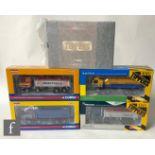 Five Corgi Rigids / Tippers / Rigid Tippers 1:50 scale diecast models, comprising CC13508 Yuil &
