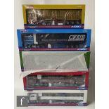 Five Corgi Hauliers of Renown 1:50 scale diecast models comprising CC13228 ARR Craib Transport DAF