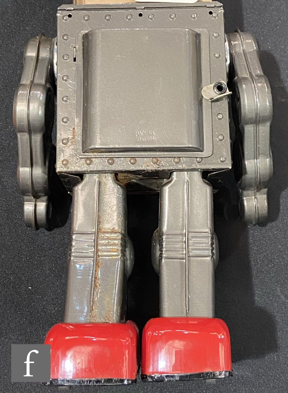A Japanese Horikawa Machine Robot, tinplate and plastic robot in picture box with inner packing - Image 5 of 5
