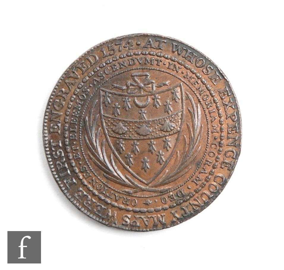 A Thomas Sekford Woodbridge Suffolk token, dated 1796 to edge. - Image 2 of 2
