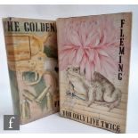 Two first edition Ian Fleming James Bond novels, 'The Man with the Golden Gun', published by
