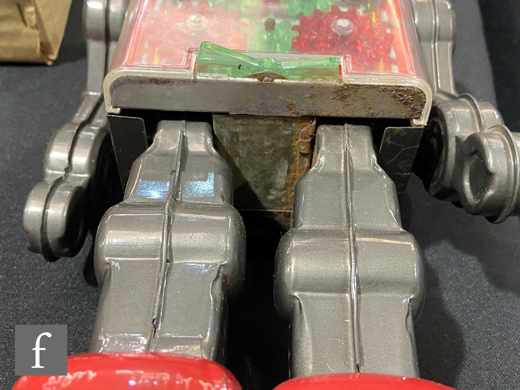 A Japanese Horikawa Machine Robot, tinplate and plastic robot in picture box with inner packing - Image 3 of 5