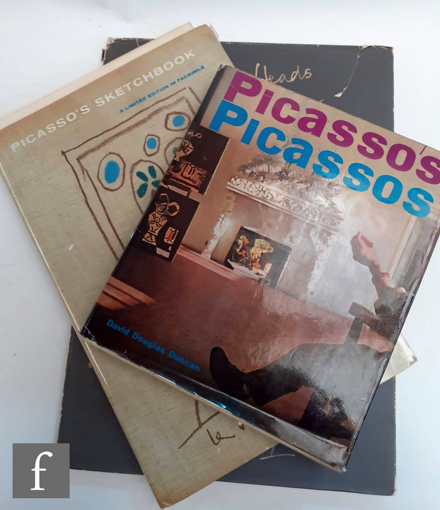 A copy of Picasso Sketchbook, facsimile, published by Thames and Hudson, London, 1961, limited