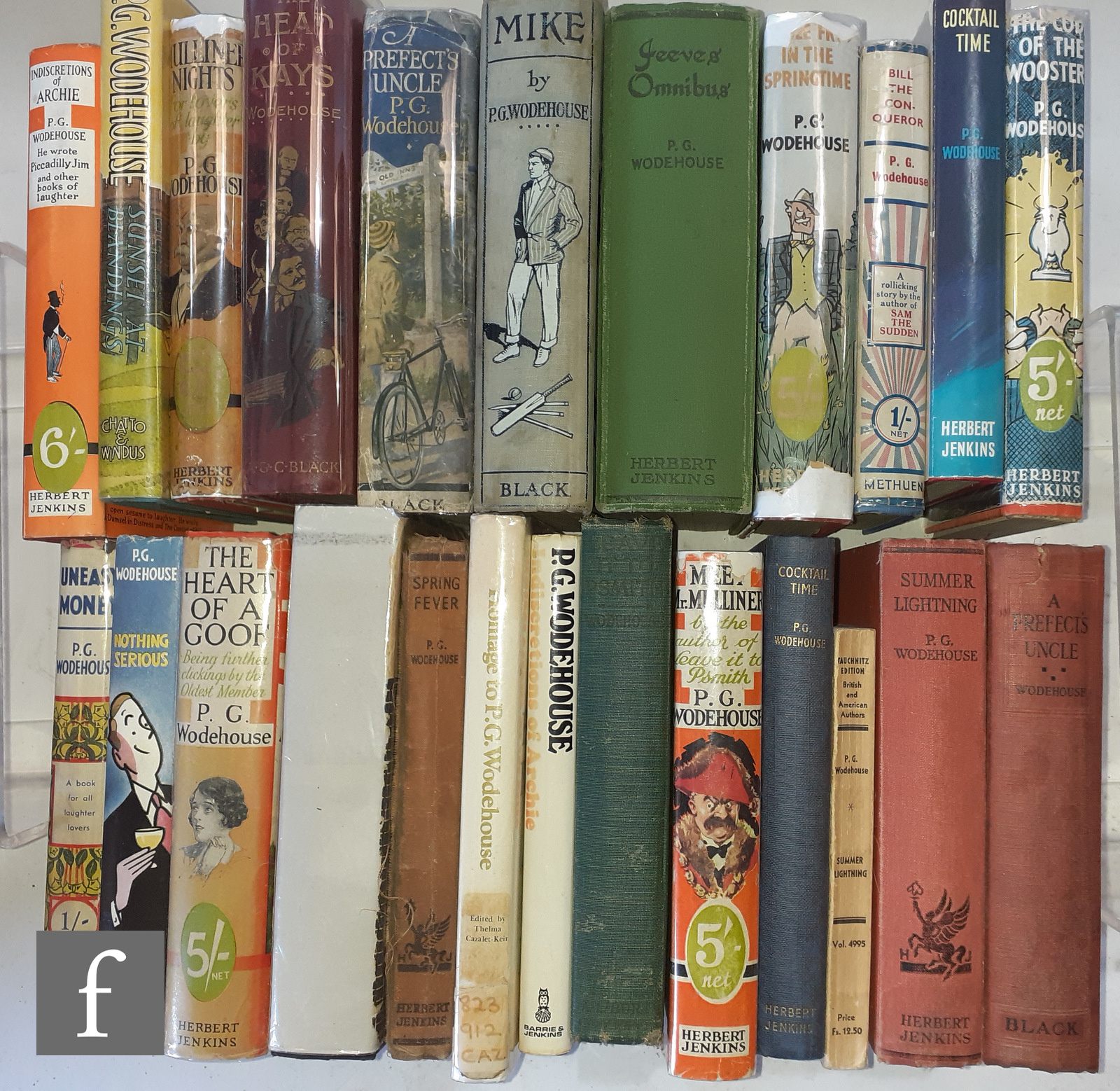 A large quantity of P. G. Wodehouse novels to include 'The Head of Kays', published by A. & C. Black