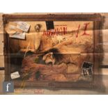 A Withnail & I British quad film poster, 1987, Handmade films, 29 x 39 inches, folded and trimmed.