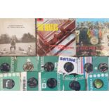 A collection of Beatles LPs and 7 inch singles, to include Please, Please Me LP, PMC 1202, third