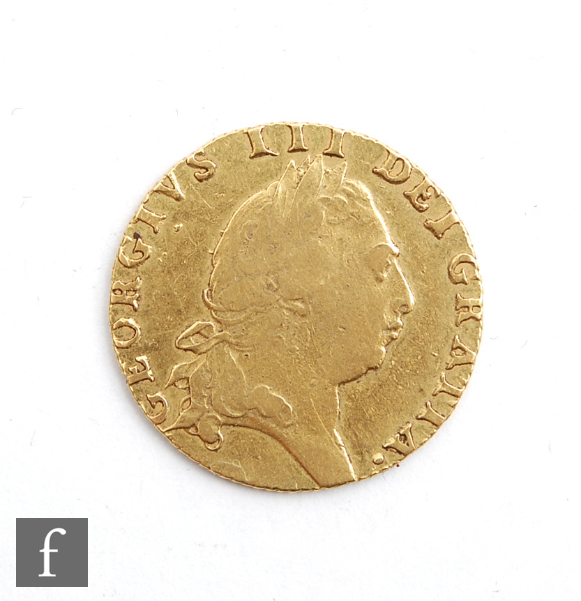 A George III Spade Guinea 1793.