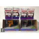 Six Corgi Truckfest 1:50 scale diecast models, comprising CC13410 Pollock MAN TGA XXL, CC13218