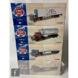 Four Corgi Kings of the Road 1:50 scale diecast models, comprising CC12503 Gibbs of Fraserburgh