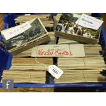 A large collection of Welsh postcards to include towns, landscape views and seascapes mainly North