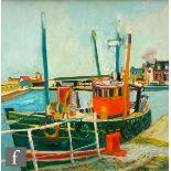 JOHN BELLANY, CBE, RA (1942-2013) - 'Speedwell, Port Seton', oil on canvas, signed, framed, 292cm