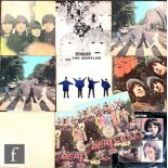 A collection of Beatles LPs, to include The White Album, PCS7067/8, first pressing, numbered No.