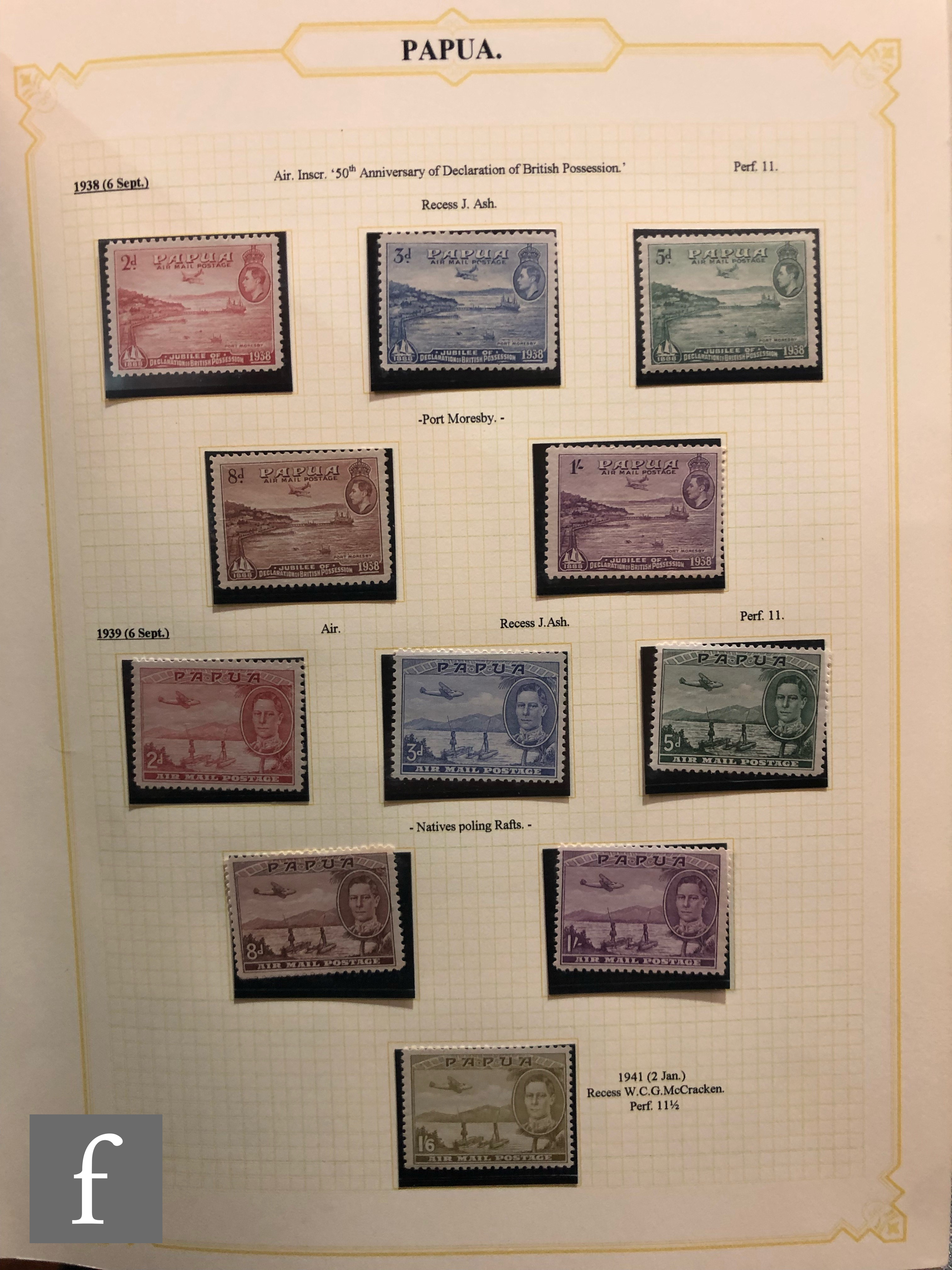 A collection of British Commonwealth postage stamps, King George VI to Queen Elizabeth II, well
