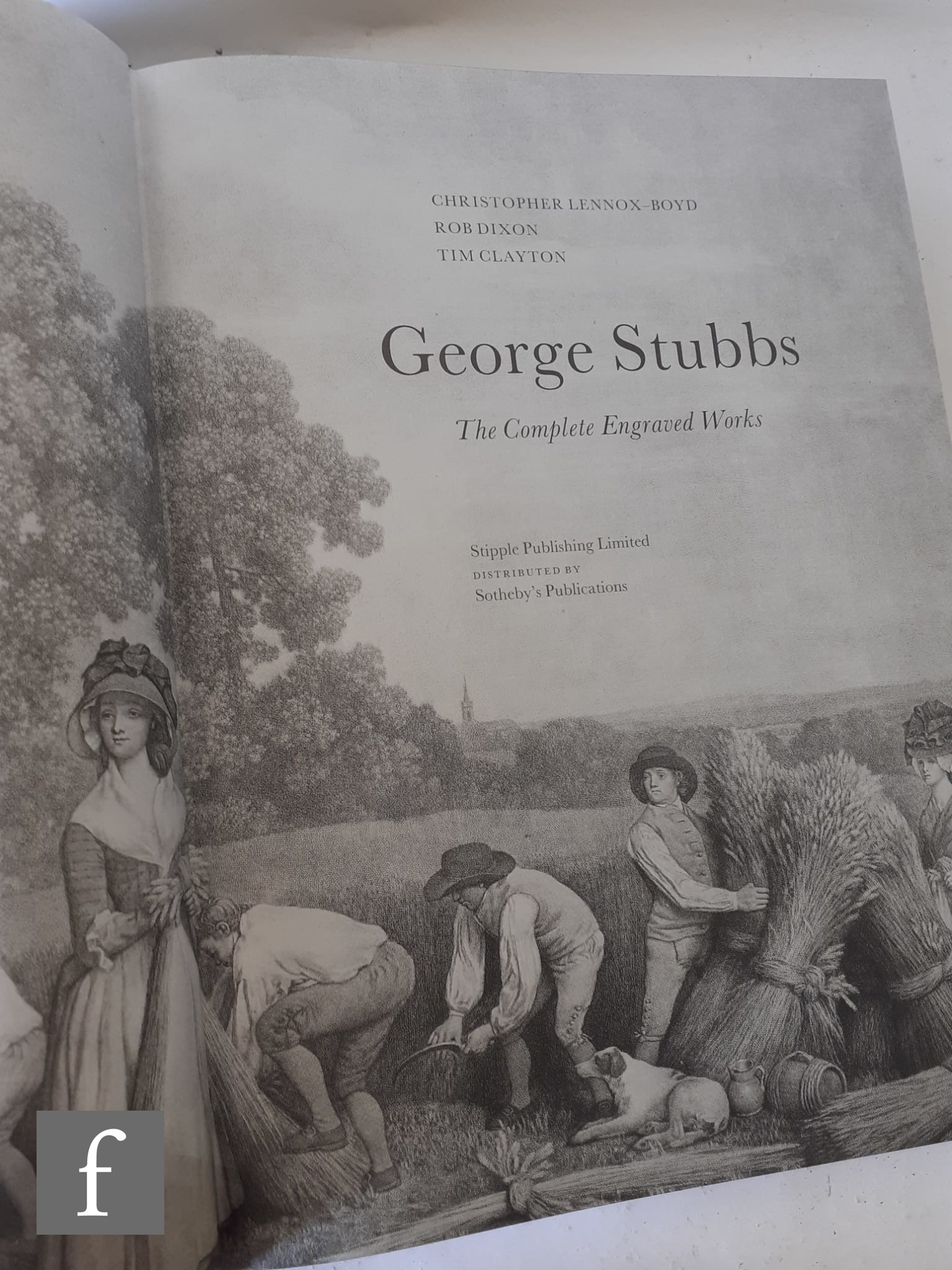 A copy of Christopher Lennox-Boyd - 'George Stubbs -The Complete Engraved Works', published by - Image 2 of 2