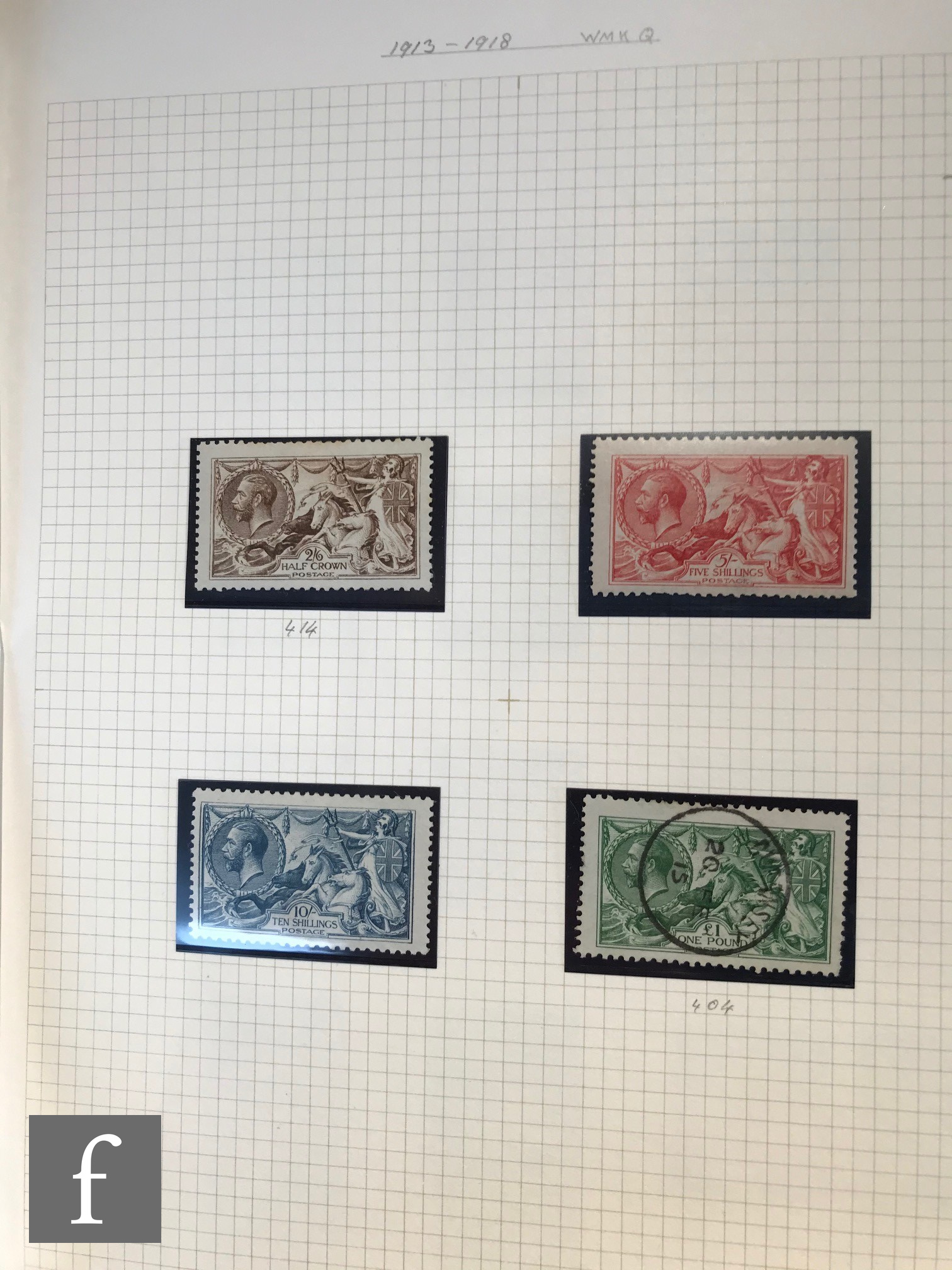 A collection of Great British postage stamps in four albums, QV to QEII, mint and used, contained - Image 2 of 5