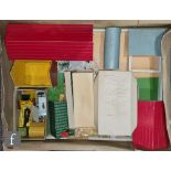 A collection of assorted Britains farm and zoo animals and assorted figures and vehicles including