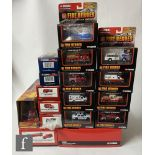 Seventeen Corgi diecast models, all fire service related, to include Fire Heroes, Heroes Under
