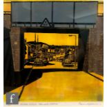 PAUL HIPKISS (CONTEMPORARY) - 'Bridge, Pool Lane, Oldbury', linocut, signed in pencil and numbered