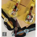 A collection of Beatles watches to include four Limited Edition World Tour watches for France,