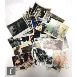 A collection of 8 x 10 film lobby cards, to include full and part sets, titles include The Ten