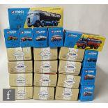 Twenty one Corgi Classics diecast model tankers, all boxed. (21)