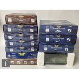 Eleven Corgi Aviation Archive diecast model aircraft, to include Battle of Britain, Military Air