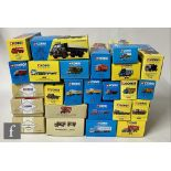 Twenty five Corgi Classics diecast models, all commercial vehicles, to include Pickfords and