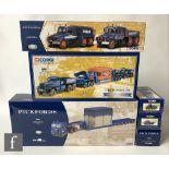 Six Corgi Pickfords diecast models, comprising CC12605 Scammell Crusader, King Trailer & Load, 55201