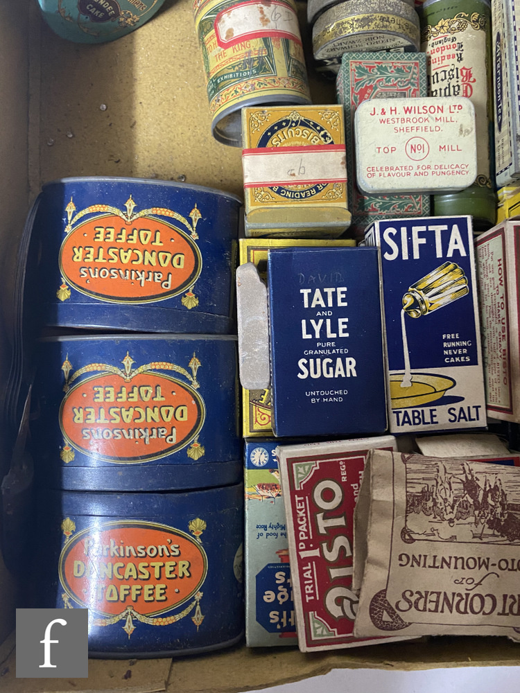 A collection of early 20th Century packaging, mostly miniature sample tins and similar, collated - Image 4 of 4