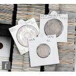 A Peru 1891 Un Sol with Guatemala counter mark, a William III East India Company 1835 one Rupee, a