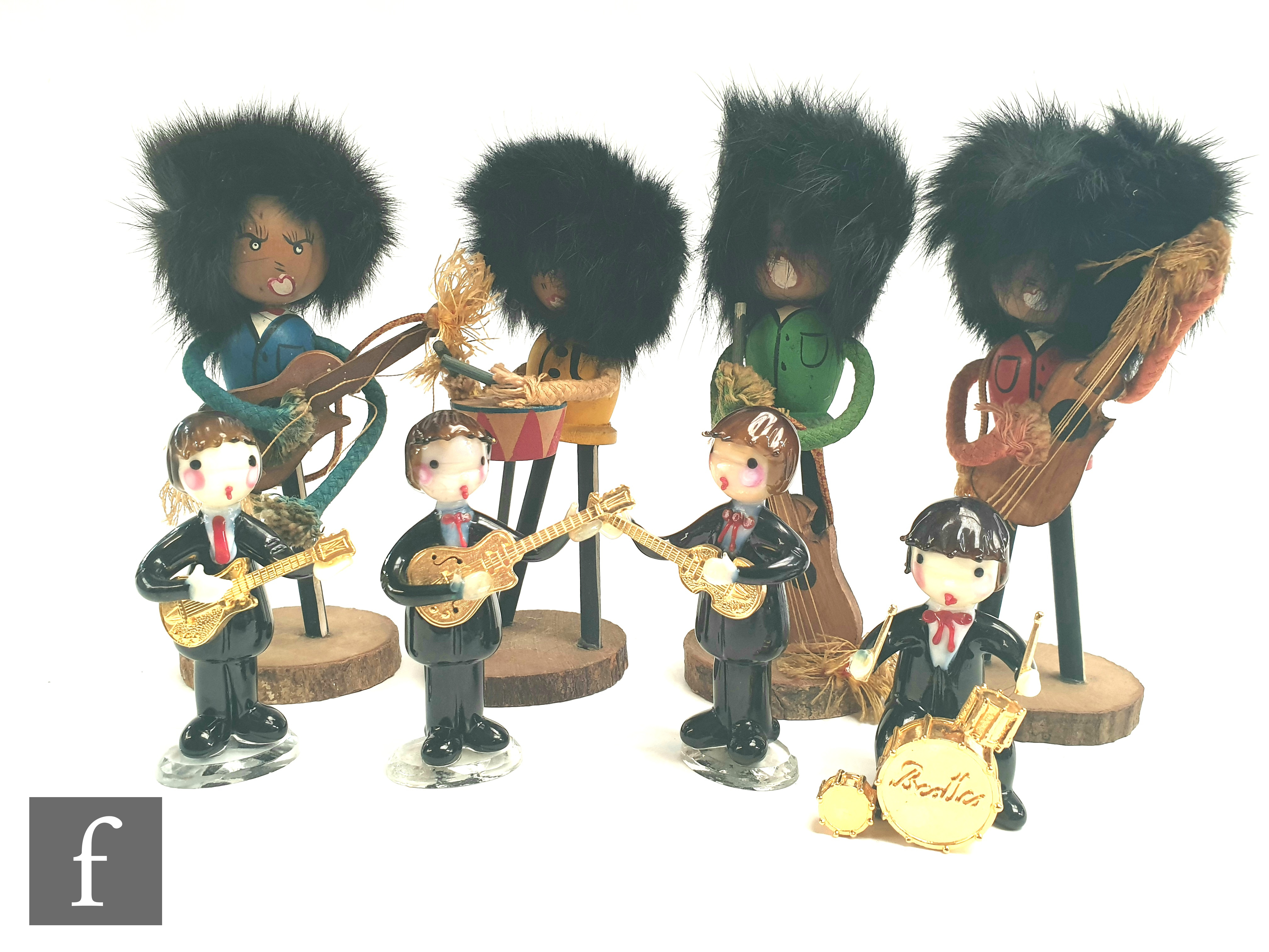 A small group of Beatles original collectables, to include a set of 1964 Nems Enterprises rubber - Image 2 of 2