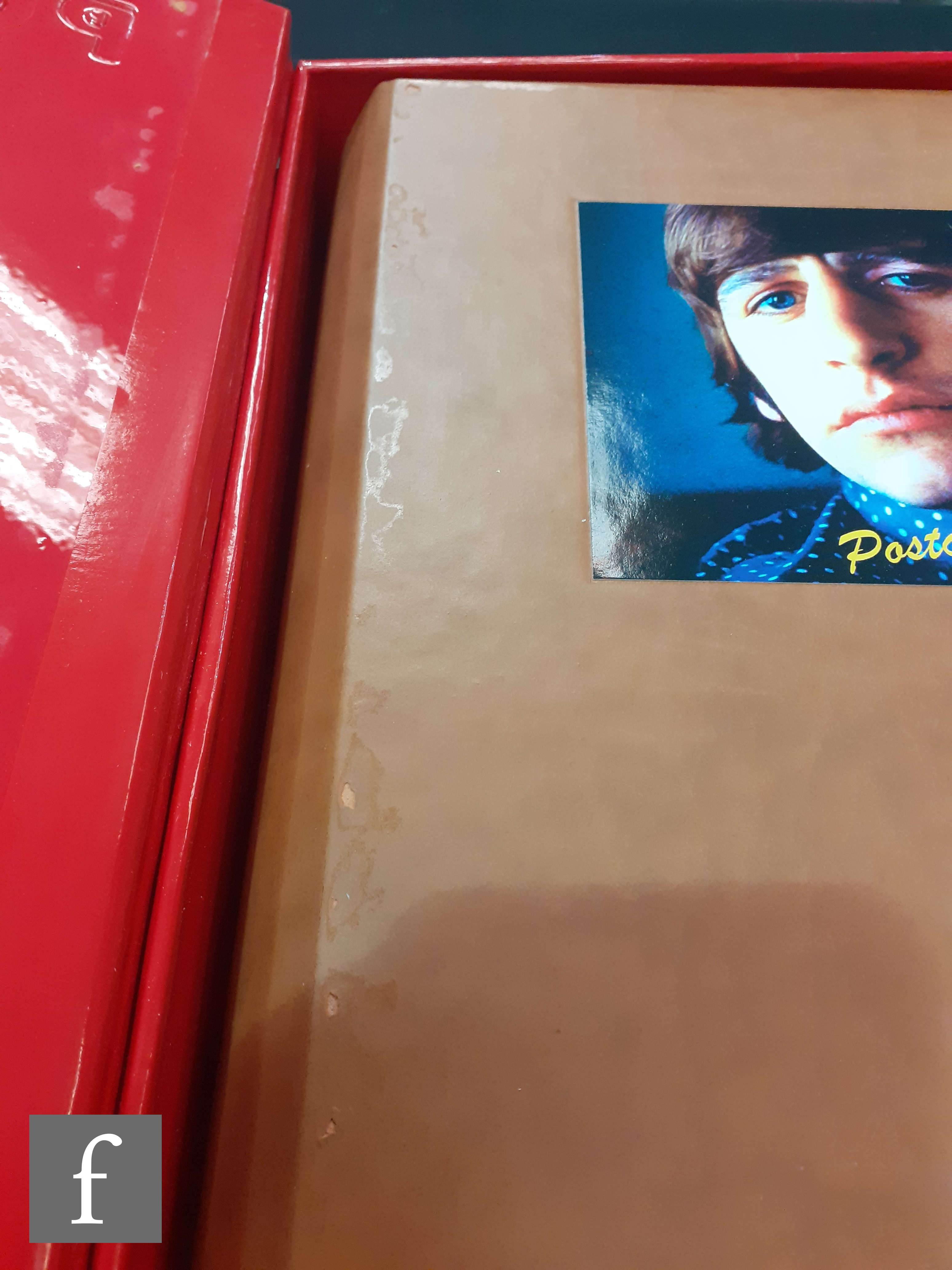 A limited edition Beatles 'Postcards from the boys', Genesis Publications, the metal red post box - Image 2 of 8