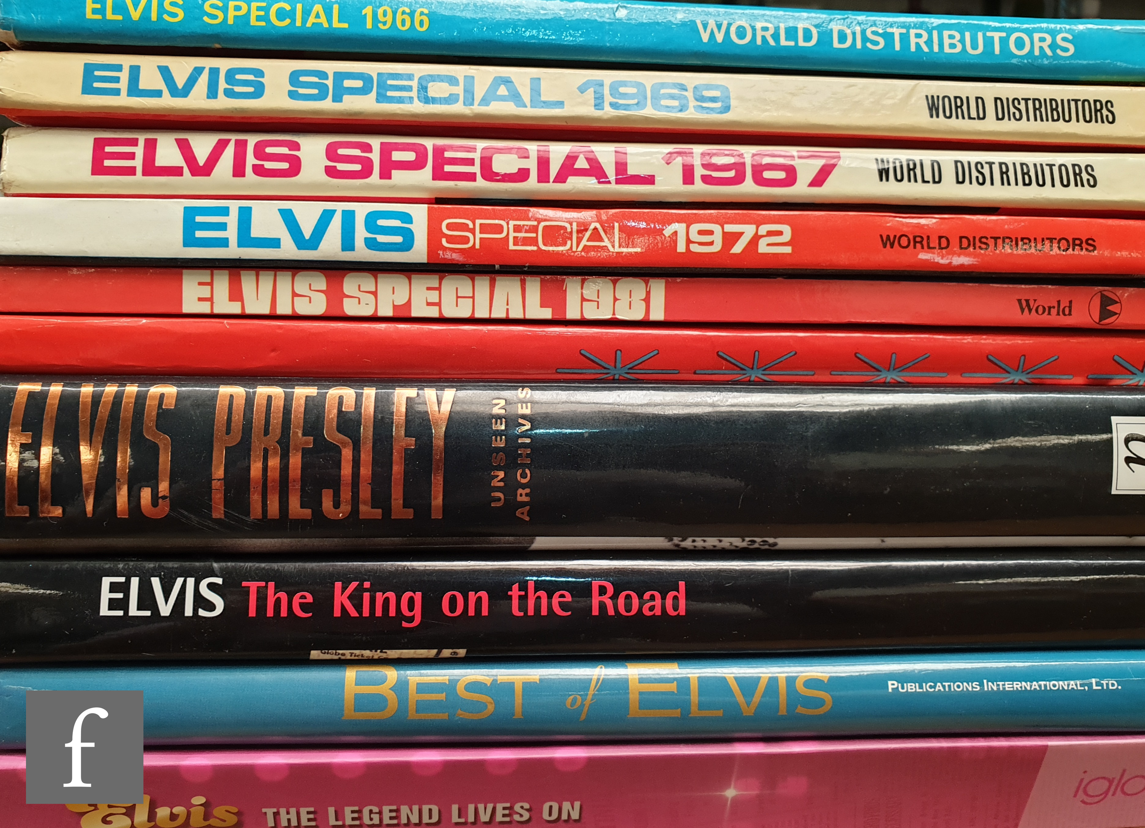 A collection of Elvis Presley related ephemera, to include a collection of reprinted documents - Image 2 of 2