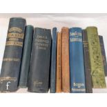 Ten assorted late 19th and early 20th Century cookery and household management books to include
