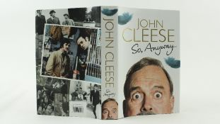 Signed by John CleeseCleese (John) So Anyway, 8vo L. (Random House) 2014, Signed, First, illustrated
