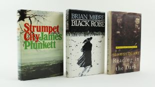 Moore (Brian) Black Robe, 8vo, L. (Jonathan Cape) 1985, Signed, cloth and d.j.; Deane (Seamus)