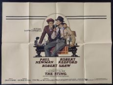 """""""All It Takes is a Little Confidence""""Cinema Poster:The Sting, [1973] directed by George Roy"""