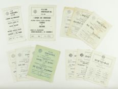 G.A.A.: [Football 1960's] [National League] a collection of 12 Official Match Programmes to