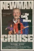 Cinema Poster:The Colour of Money, [1986], directed by Martin Scorcese, starring Paul Newman and