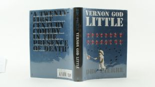 Signed by the AuthorPierre (D.B.C.) Vernon, God Little, 8vo, L. (Faber & Faber) 2003, First,