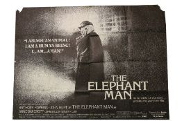 Cinema Poster: The Elephant Man, 1980 directed by David Lynch, starring John Hurt and Anthony